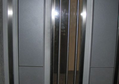 Врата от неръждаема стомана - инокс (29)
