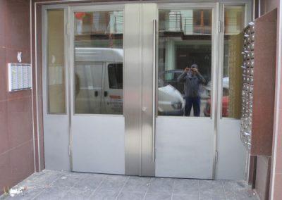Врата от неръждаема стомана - инокс (27)