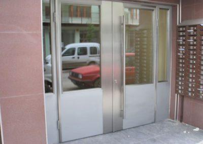 Врата от неръждаема стомана - инокс (26)