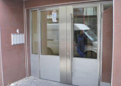 Врата от неръждаема стомана - инокс (25)