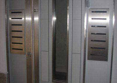 Врата от неръждаема стомана - инокс (33)