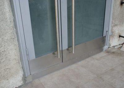 Входна врата от неръждаема стомана - инокс (13)
