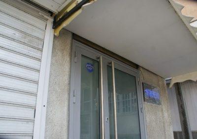 Входна врата от неръждаема стомана - инокс (12)