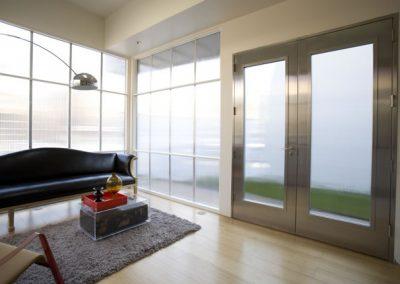Входна врата от неръждаема стомана - инокс (11)