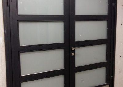 Входна врата от неръждаема стомана - инокс (19)