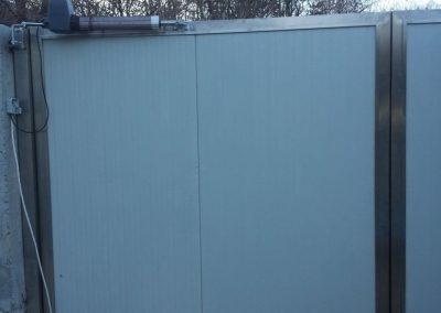 Входна врата от неръждаема стомана - инокс (18)