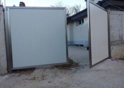 Входна врата от неръждаема стомана - инокс (17)