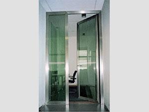 Входна врата от неръждаема стомана - инокс (4)