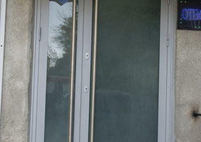 Входна врата от неръждаема стомана - инокс (14)