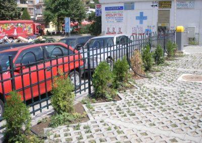 Външна ограда от ковано желязо (1)