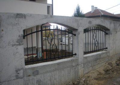 Външна ограда от ковано желязо (74)