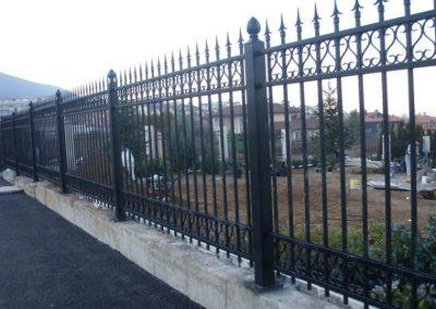 Външна ограда от ковано желязо (73)