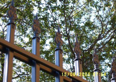 Външна ограда от ковано желязо (71)