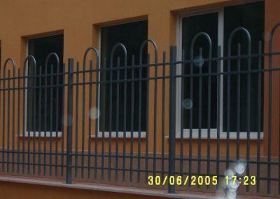 Външна ограда от ковано желязо (70)