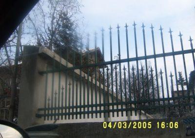 Външна ограда от ковано желязо (69)