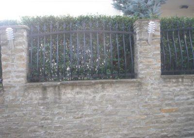 Външна ограда от ковано желязо (68)