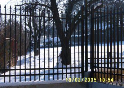 Външна ограда от ковано желязо (67)