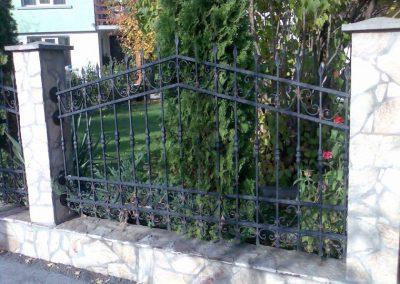 Външна ограда от ковано желязо (66)