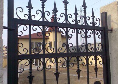 Външна ограда от ковано желязо (65)