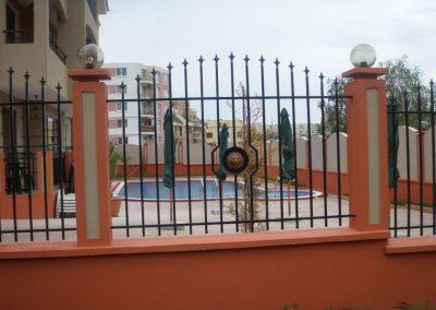 Външна ограда от ковано желязо (82)