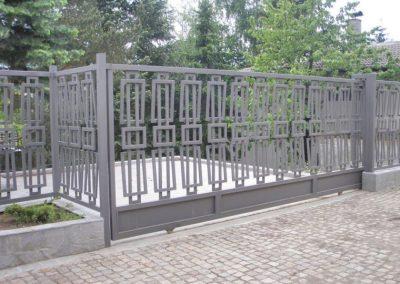 Външна ограда от ковано желязо (62)