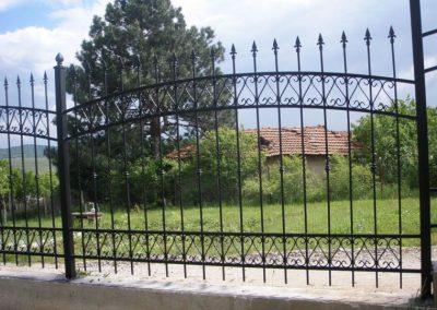 Външна ограда от ковано желязо (61)