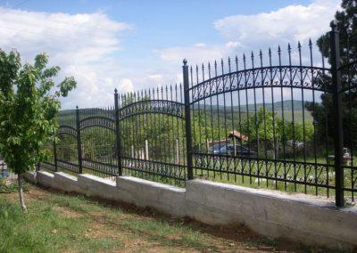 Външна ограда от ковано желязо (60)
