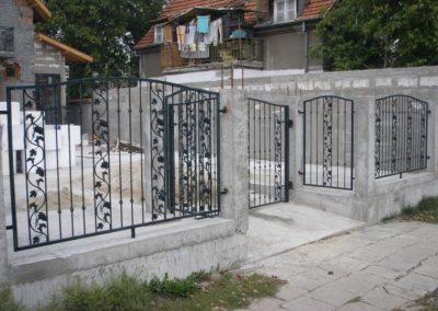 Външна ограда от ковано желязо (59)