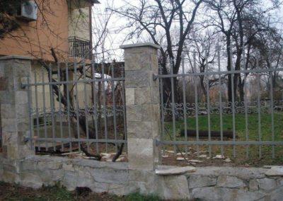 Външна ограда от ковано желязо (58)