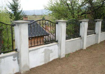 Външна ограда от ковано желязо (56)