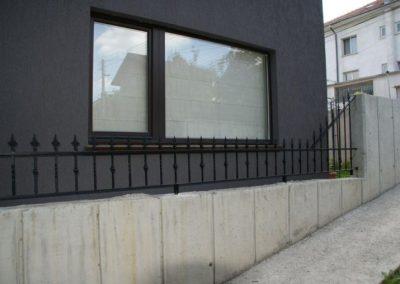 Външна ограда от ковано желязо (55)