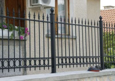 Външна ограда от ковано желязо (54)