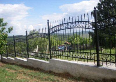 Външна ограда от ковано желязо (52)