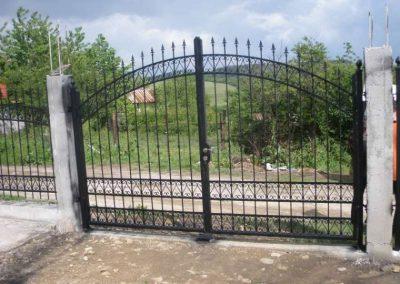Външна ограда от ковано желязо (51)