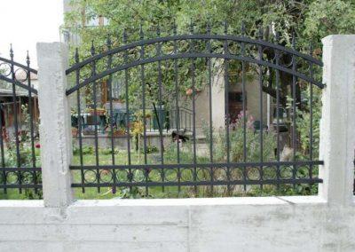 Външна ограда от ковано желязо (49)
