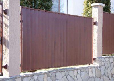 Външна ограда от ковано желязо (46)