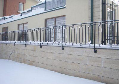 Външна ограда от ковано желязо (45)
