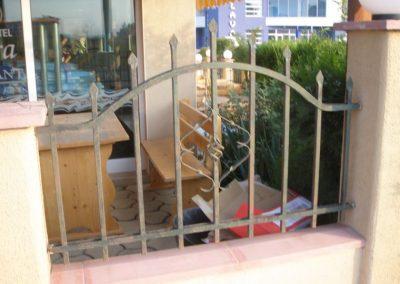 Външна ограда от ковано желязо (80)