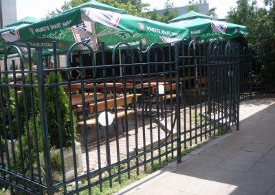 Външна ограда от ковано желязо (44)