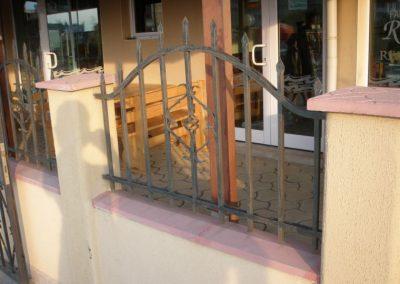 Външна ограда от ковано желязо (79)