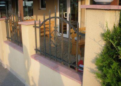 Външна ограда от ковано желязо (78)