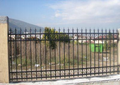 Външна ограда от ковано желязо (76)