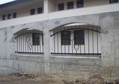 Външна ограда от ковано желязо (75)