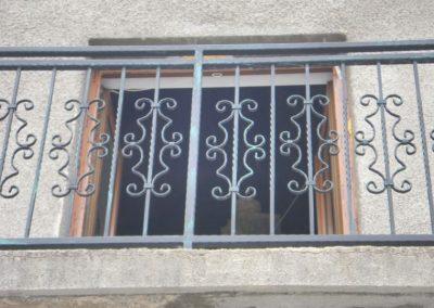 Външни парапети от ковано желязо (149)