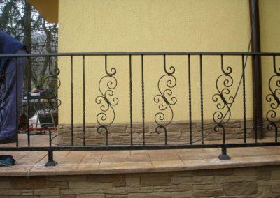 Външни парапети от ковано желязо (138)