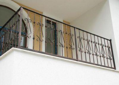 Външни парапети от ковано желязо (123)