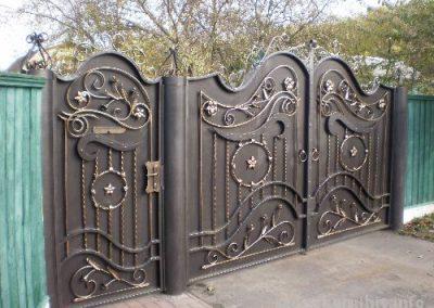 Дворна врата от ковано желязо (173)