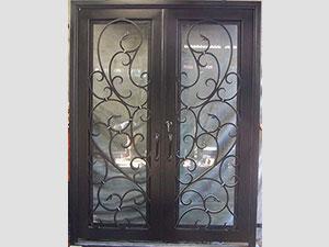 Дворна врата от ковано желязо (3)
