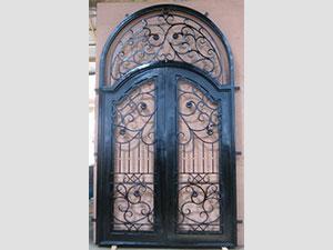Дворна врата от ковано желязо (5)