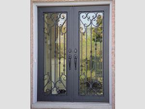 Дворна врата от ковано желязо (4)